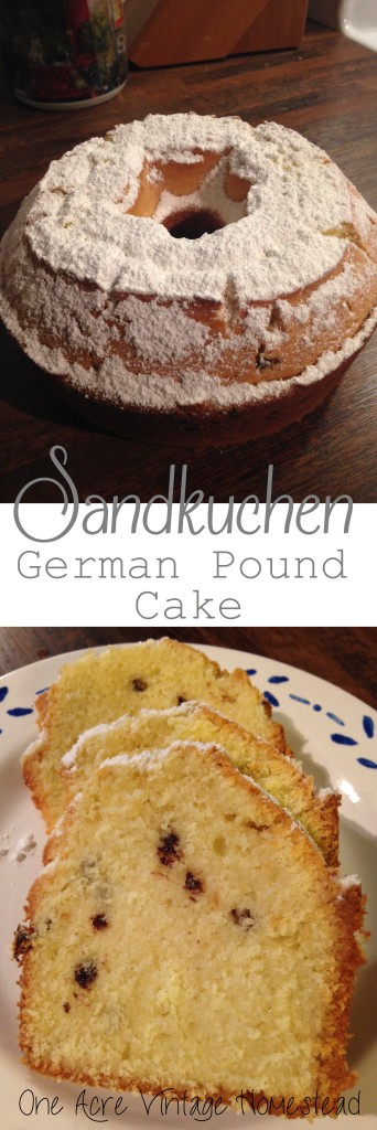 German Chocolate Pound Cake Recipe From Scratch
