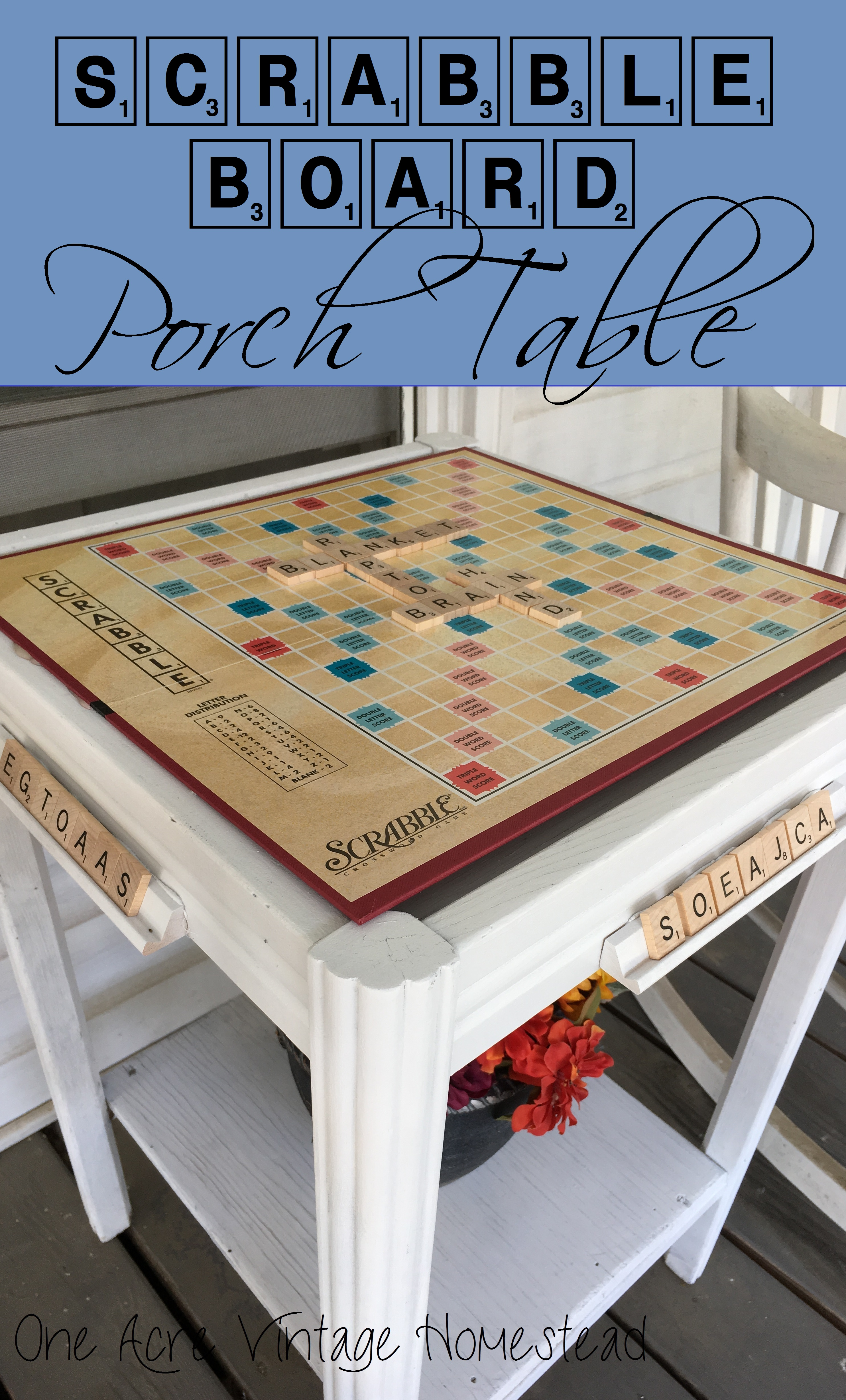 how to make board game table