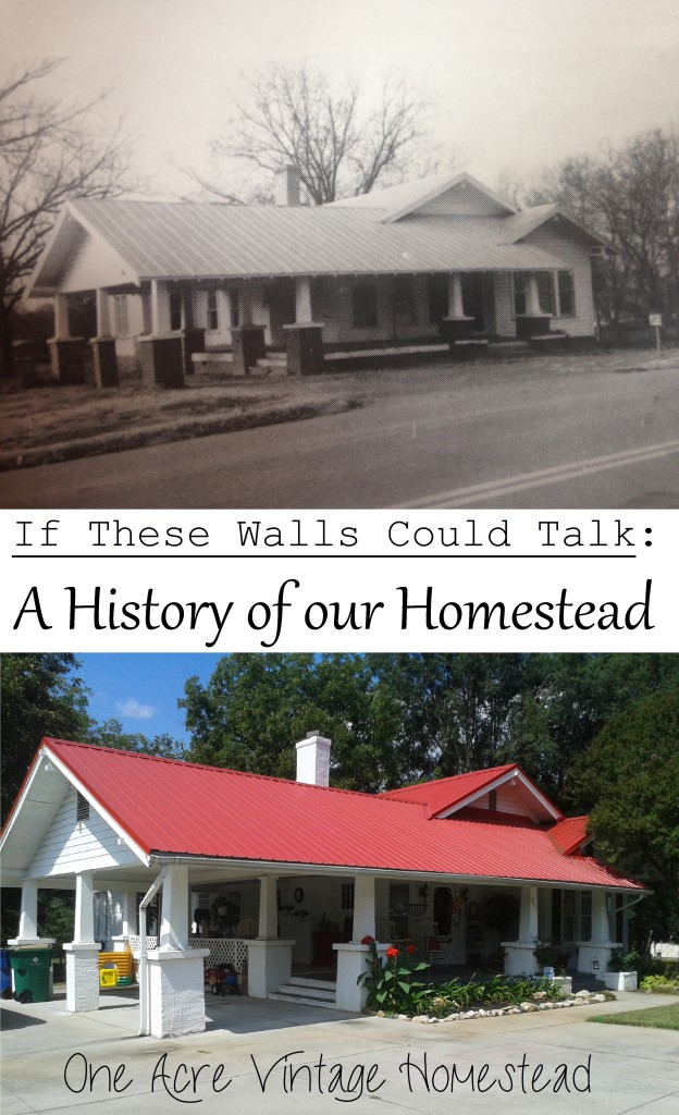 The Geneology And History Of A Homestead One Acre